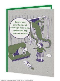 Giant Octopus Greeting Card: Office Products