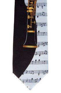 Clarinet Music Tie / Handkerchief