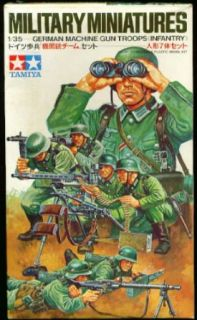 Tamiya German Machine Gun Troops set MM138: Collectibles & Fine Art