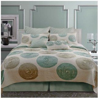 Nostalgia Home Fashions Madison Quilt, Queen: Baby