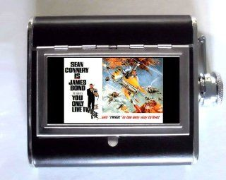 James Bond, Sean Connery 5oz Flask Cigarette Case ID Wallet: Everything Else