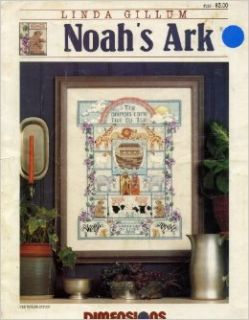 Noah's Ark Counted Cross Stitch Pattern Craft Book (#153): Books