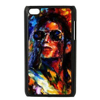 Dance pop star Michael Jackson Singer Cool ipod touch 4 Hard Cover Case Protector your cellphone: Books