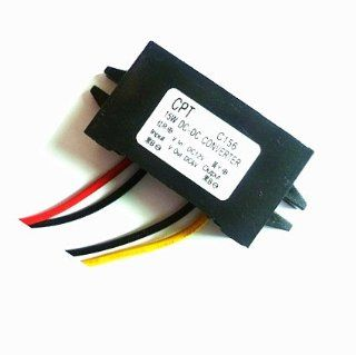 Autek Waterproof DC/DC Converter 12V Step down to 6V 15W Max 3A Power Supply E063(DCCON C156) Electronics