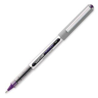 Uni Ball EYE UB 157 Rollerball Pen VIOLET [Pack of 12] Medium 0.7mm Ball: Office Products