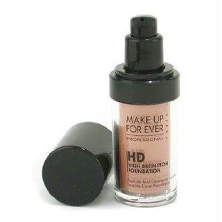 MAKE UP FOR EVER HD Invisible Cover Foundation 165 Honey Beige 1.01 oz : Foundation Makeup : Beauty