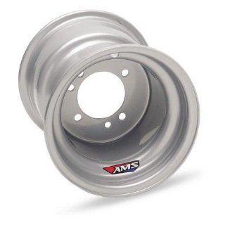 AMS Steel Replacement Wheel   10x5   2+3 Offset   4/166 , Wheel Rim Size 10x5, Rim Offset 2+3, Bolt Pattern 4/166, Position Front AMS123 Automotive