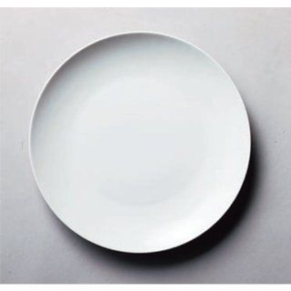 dinner plate kbu668 13 652 [9.57 x 0.99 inch] Japanese tabletop kitchen dish Delica SY wear white 9.5 inch meta  plate [24.3 x 2.5cm] China Tableware Restaurant Hotel restaurant business kbu668 13 652: Kitchen & Dining