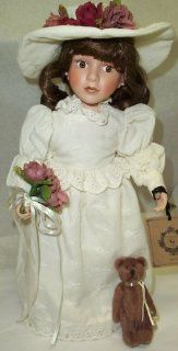 Boyds Bears Porcelain Doll Emilee with Otis Forever #4808 Toys & Games