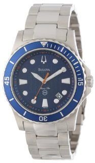 Bulova Men's 98B130 Marine Star Blue Dial Bracelet Watch: Bulova: Watches