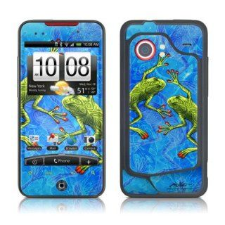 Tiger Frogs Protective Skin Decal Sticker for HTC Droid Incredible (Verizon) Cell Phone Cell Phones & Accessories