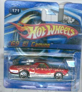 Hot Wheels 2005 171 '69 El Camino SHORT CARD 1:64 Scale: Toys & Games