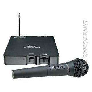 Azden Single Channel VHF Wireless Hand Held Microphone System   A3, 171.045MHz Computers & Accessories
