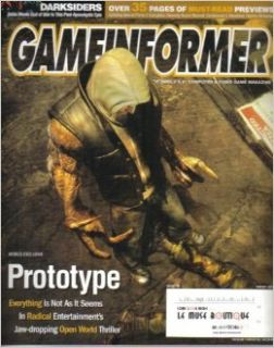 GAMEINFORMER MAGAZINE (August 2007   Issue 172) Featuring: PROTOTYPE: Andrew McNamara: Books
