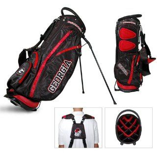 NCAA Georgia Bulldogs Fairway Stand Golf Bag   Team Golf : Sports Fan Golf Club Bags : Sports & Outdoors