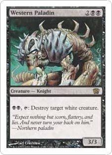 Western Paladin (Magic the Gathering : 8th Edition #173 Rare): Toys & Games
