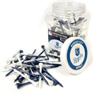 MLB Kansas City Royals 175 Tee Jar, Silver : Golf Tees : Sports & Outdoors