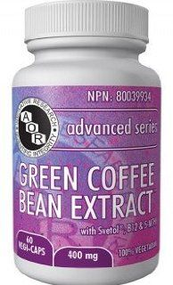 Green Coffee Bean Extract (60 VeggieCaps) Brand A.O.R Advanced Orthomolecular Research Health & Personal Care