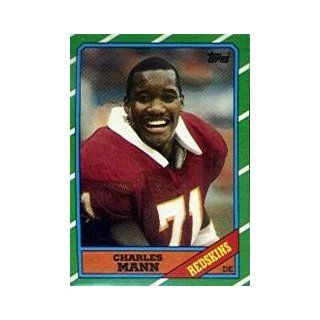 1986 Topps #181 Charles Mann RC: Sports Collectibles