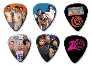 Blink 182 Set of 6 Loose Guitar Picks ( Collection E ): Everything Else