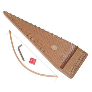 Zither Heaven 22 String Bowed Psaltery   Kids Musical Instruments