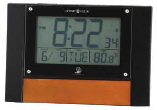 Howard Miller 645 706 Anaston Accutech Desktop Clock   Alarm Clocks