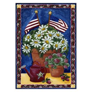 Toland 28 x 40 in. American Daisies House Flag   Flags