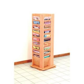 40 Magazine Free Standing Floor Display   Commercial Magazine Racks