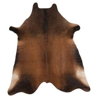 Safavieh COH211D 5 Cow Hide Rug   Tan   4.5 x 6.5 ft.   Area Rugs