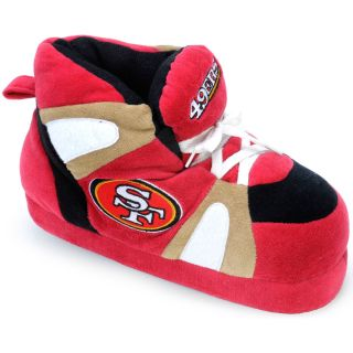 Comfy Feet NFL Sneaker Boot Slippers   San Francisco 49ers   Mens Slippers