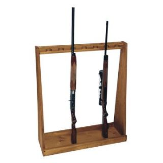 Evans Sports Standing Rifle Rack   Unassembled   Gun Cabinets & Safes