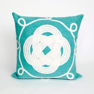 Liora Manne Ornamental Knot Indoor / Outdoor Throw Pillow   Decorative Pillows
