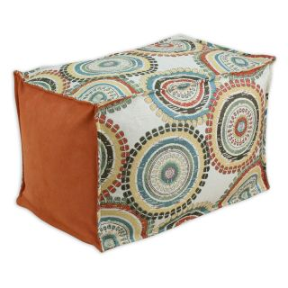 Chooty & Co. Incogneato Seamed Beads Pouf with Zippered Closure   Ottomans