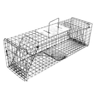 Tomahawk Original Series Rigid Trap with Two Trap Doors for Skunks/Possums/Prairie Dogs   Wildlife & Rodent Control