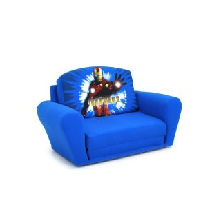 Kidz World Iron Man 2   Sleepover Sofa   Seating