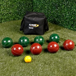 St. Pierre Official Tournament 107mm Bocce Set   Bocce Ball