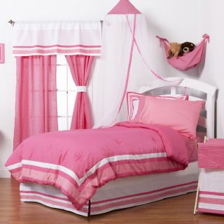 Simplicity Hot Pink Bedding Set   Girls Bedding
