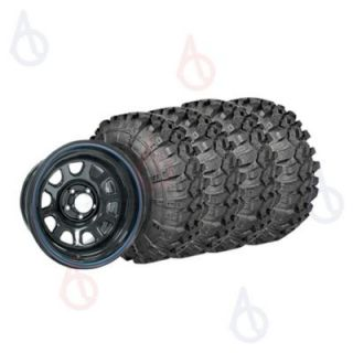 Super Swamper LTB Bias Tires And Pro Comp Extreme Steel Wheels Package