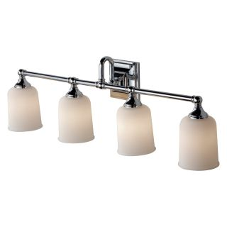 Murray Feiss Harvard Vanity Light   33L in. Chrome   Bathroom Lighting