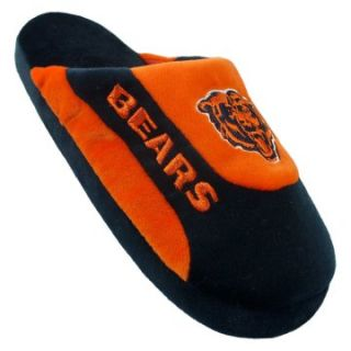 Comfy Feet NFL Low Pro Stripe Slippers   Chicago Bears   Mens Slippers