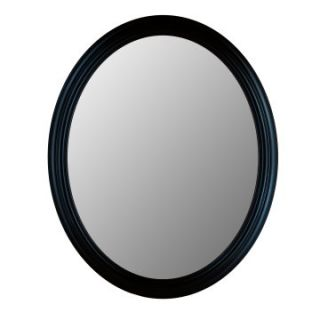 Hitchcock Butterfield Traditions Series Oval Wall Mirror   770   True Black   Wall Mirrors