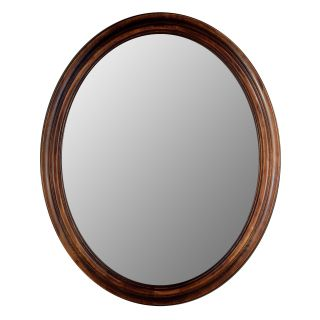 Hitchcock Butterfield Traditions Series Oval Wall Mirror   770   Dark Oak   Wall Mirrors