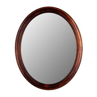 Hitchcock Butterfield Traditions Series Oval Wall Mirror   770   Mahogany   Wall Mirrors