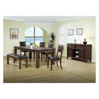 Monarch Kensington Chunky Leg Extendable Dining Table   Dining Tables