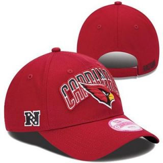 ec1ceba406f New Era Arizona Cardinals Ladies 2013 NFL Draft 9FORTY Adjustable Hat  Cardinal