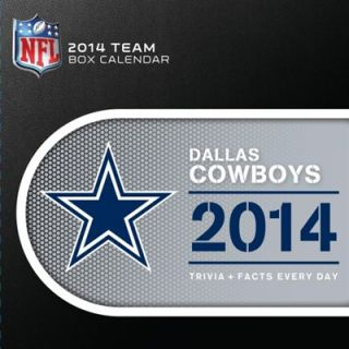 Dallas Cowboys 2014 Desk Calendar