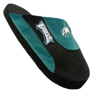 Comfy Feet NFL Low Pro Stripe Slippers   Philadelphia Eagles   Mens Slippers