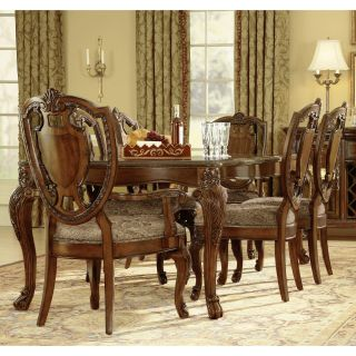 A.R.T. Furniture Old World 7 piece Leg Dining Set   Cathedral Cherry   Dining Table Sets