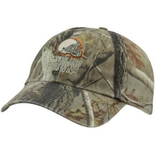 47 Brand Cleveland Browns Clean Up Adjustable Hat   Realtree Camo