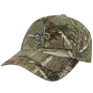47 Brand New Orleans Saints Franchise Fitted Hat   Realtree Camo
